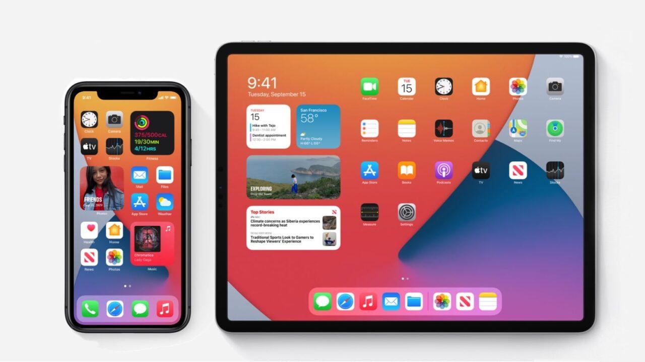 iPhone и iPad на iOS 14 и iPadOS 14