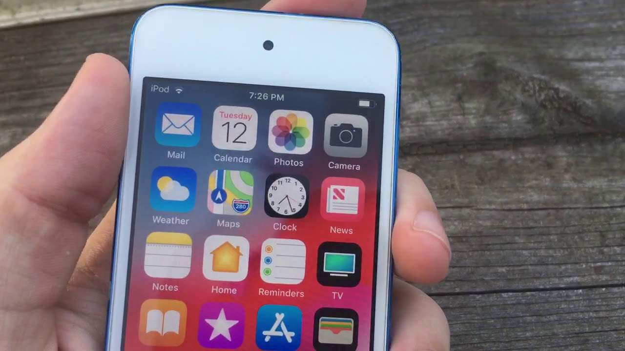 iPod Touch на iOS 12