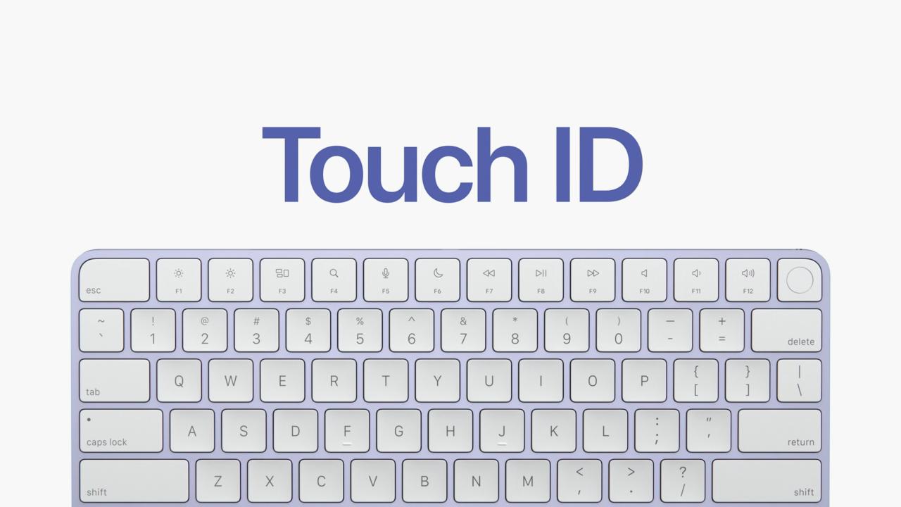Синий Magic Keyboard 2
