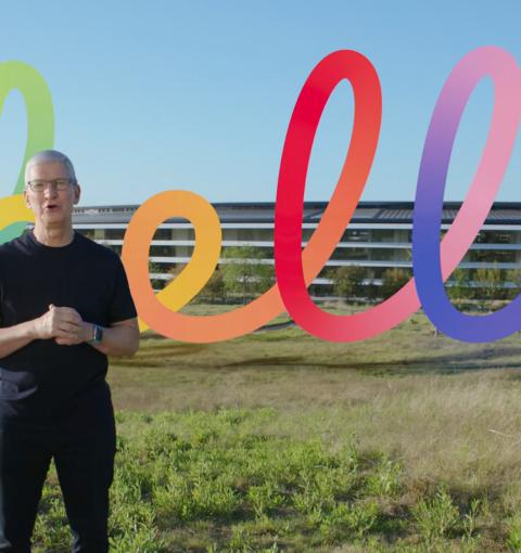Презентация Apple, апрель 2021