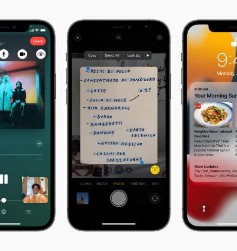 Возможности iOS 15