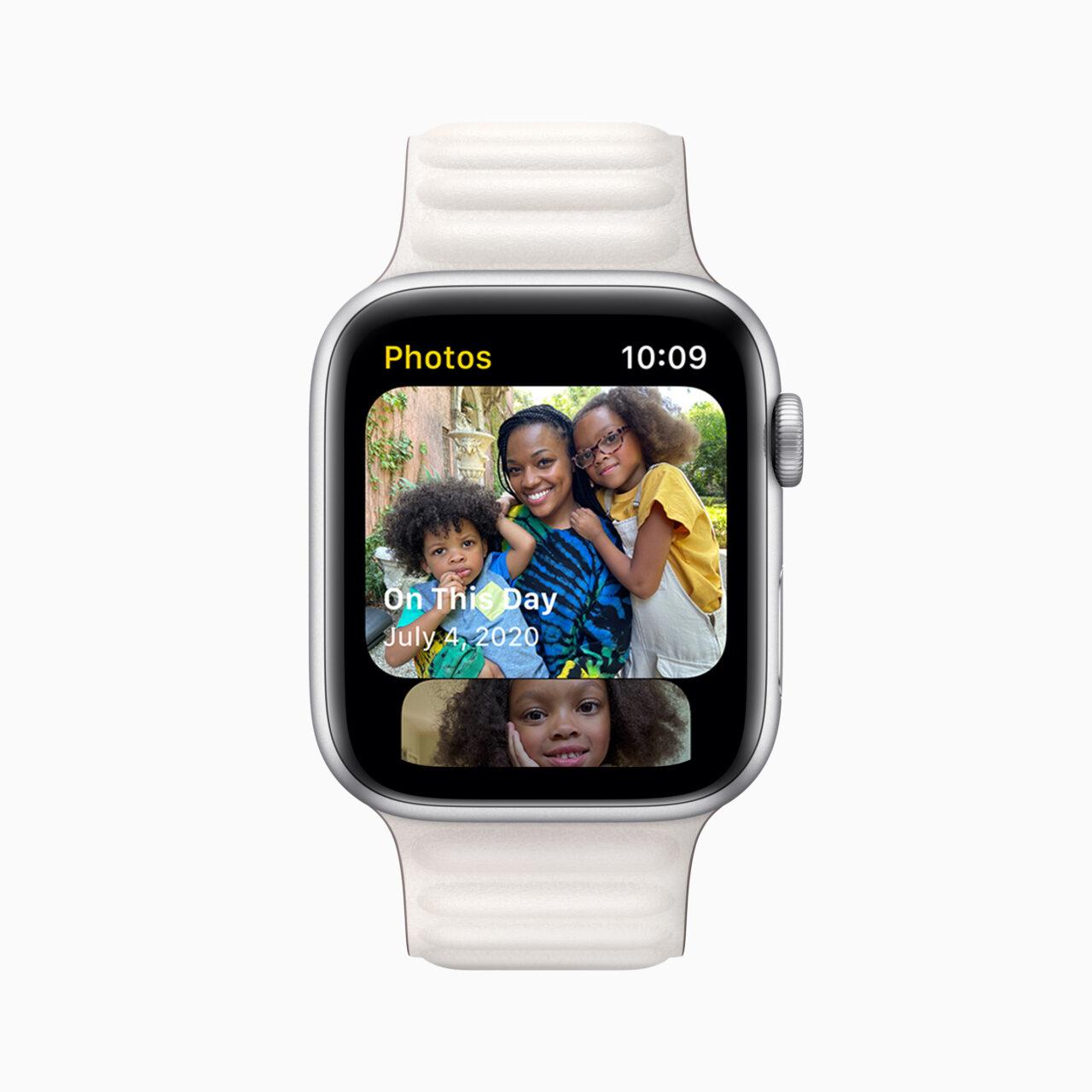 Приложение Фото в watchOS 8