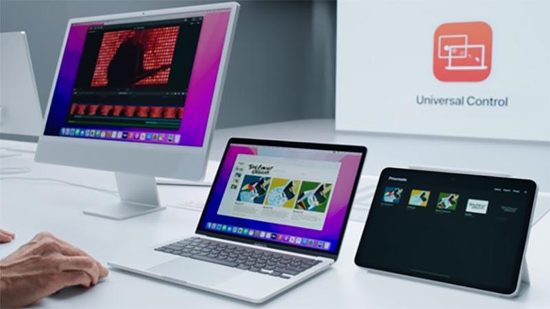 Universal Control в macOS 12