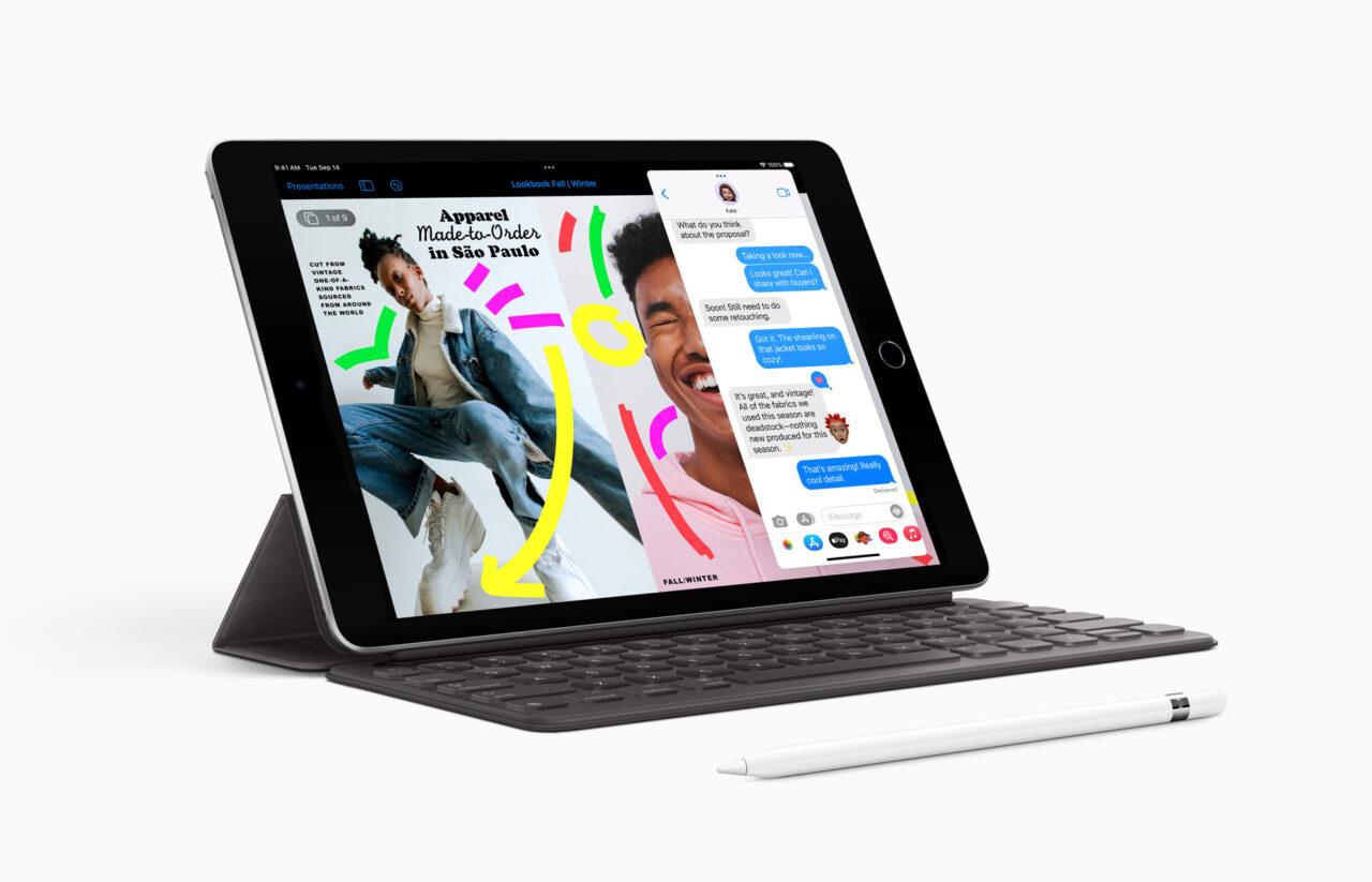 iPad 9 – го поколения на iPadOS 15