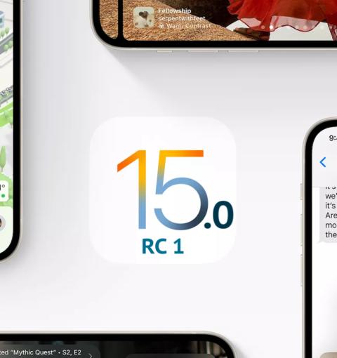 iOS 15.0 RC 1