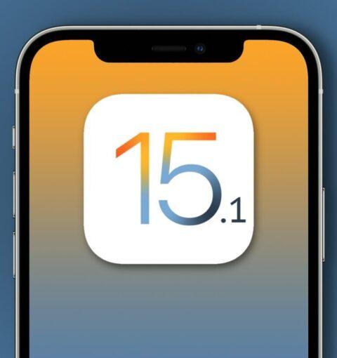 iOS 15.1