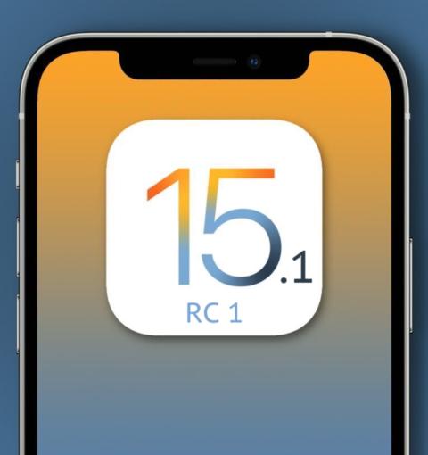 iOS 15.1 RC 1